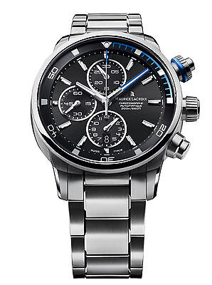 Maurice Lacroix Pontos S Chronograph Stainless Steel Men's PT6008-SS002-331