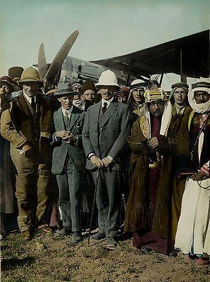 T.E. Lawrence of Arabia Sheik Adwan Amir Abdulla Color Tinted Photo 19413 (Sheik Arabia)