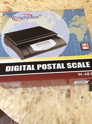 Weigh Max W-4819 Postal Scale Nwt