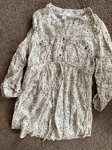 Maternity shirt size Large