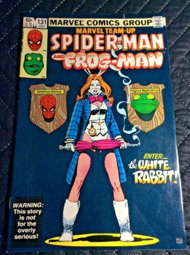 Marvel Team-Up #131 KEY 1st App of White Rabbit Spider-Man and Frog Man CLEAN
