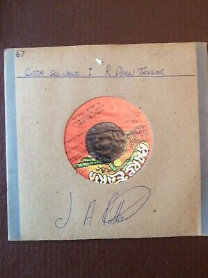 "R DEAN TAYLOR - GOTTA SEE JANE  7"" VINYL 1967 Back Street"