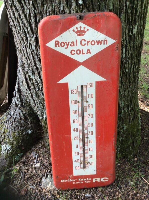 Vintage Royal Crown Cola Thermometer