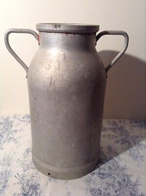 Vintage French Milk Churn - Vase, Garden Planter, Umbrella, Coal Scuttle (3986)