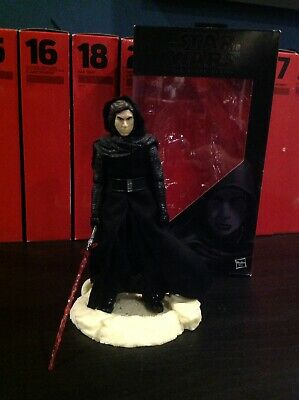 Star wars Black series 6 inch  Kylo Ren figure. Boxed