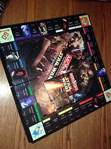 Star Wars episode 1 monopoly 3d Board