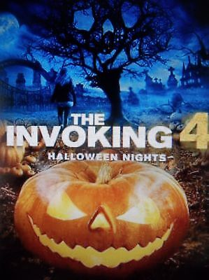 THE INVOKING 4 HALLOWEEN NIGHTS, DVD, 2017, SKU 4834 - 2017 Halloween The Movie