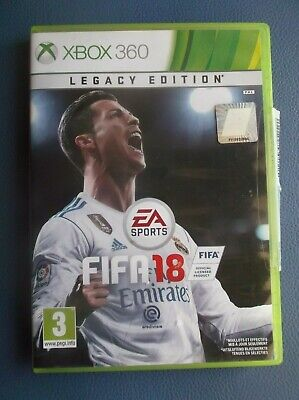 FIFA 18 Legacy Edition Xbox 360, used for sale  Shipping to Nigeria