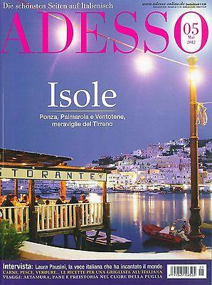ADESSO Italienisch-Magazin, Heft Mai 05/2012: Isole, inkl. evviva! ++ wie neu ++