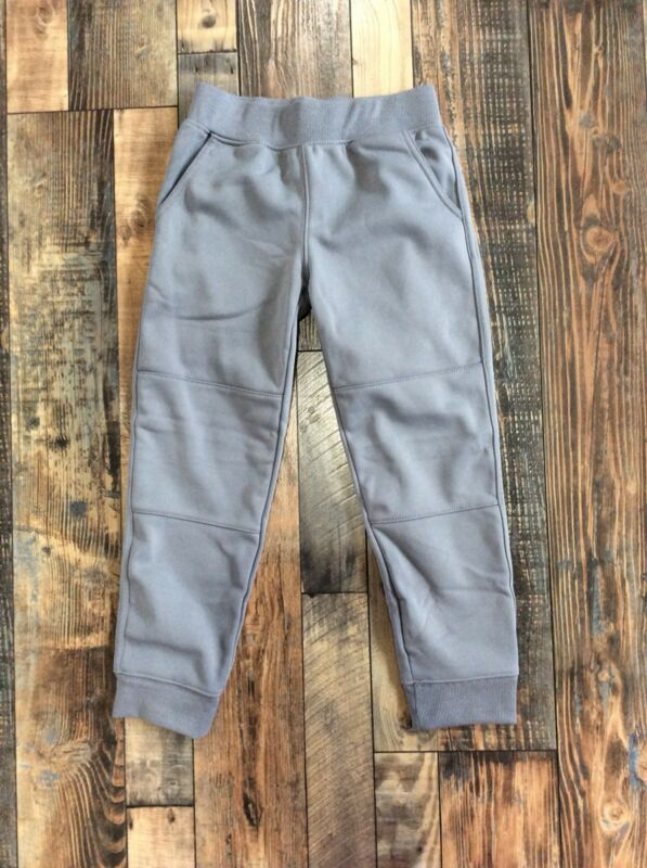 GYMBOREE BOYS PULL ON Active Grey Gray PANTS Nwt Size S 5 6