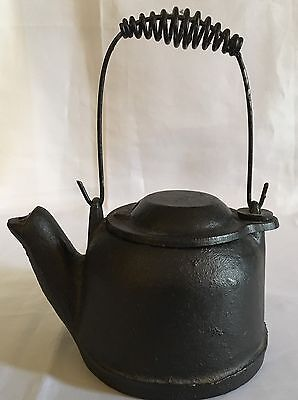 Vintage Small Cast Iron Griswold Tea Kettle Teapot Salesman Sample/Child's Toy
