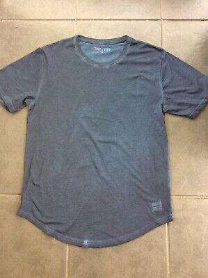 Mens Only & Sons T Shirt Blue Dip Dye Size M Medium Designer Trend (Dip Dye Trend)