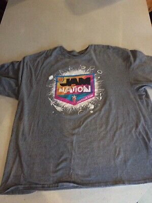 Jam Nation T Shirt Concert Tour Size 2X