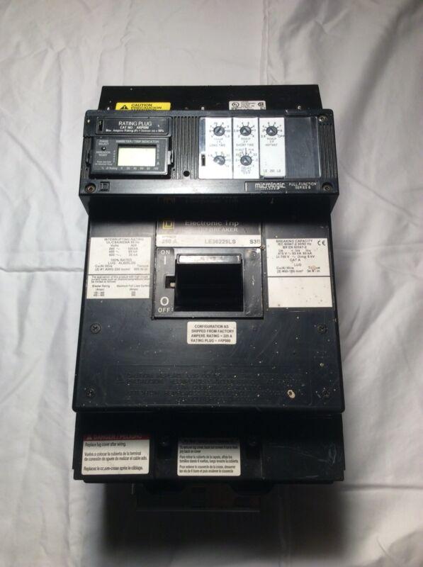 SQUARE D LE36225LS S3B 600V, SENSOR 250 A