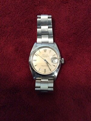 VINTAGE ROLEX 1500 OYSTER DATE STEEL AUTOMATIC RARE CAL. 1560 34MM MENS WATCH