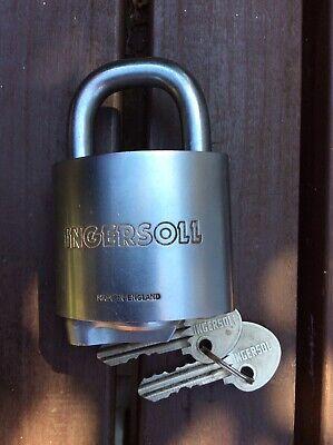 Ingersoll Padlock 10 Lever Open Shackle (OS711)