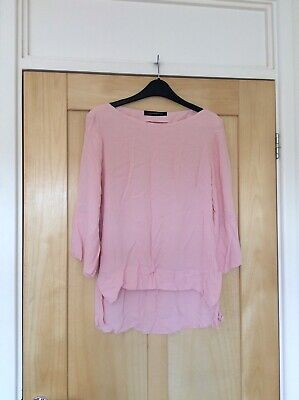 Zara Pink Blouse Top Size XL 14 16