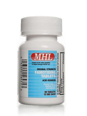 Famotidine 10 mg   90 Count Tablets   Acid Reducer
