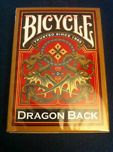 Top Deck Cards : Bicycle Dragon Back Playing Cards, Gold Features and Price