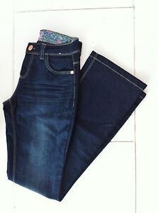 BNWOT Denim CO skinny flare jeans size 8