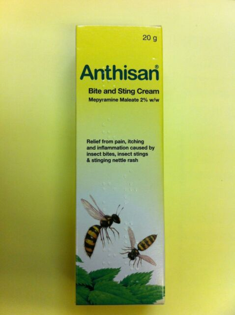 ANTHISAN BITE & STING CREAM 20G, GREAT VALUE FOR MONEY!