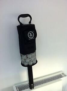 JL Golf clikka shag bag tube. Holds about 60 balls collector