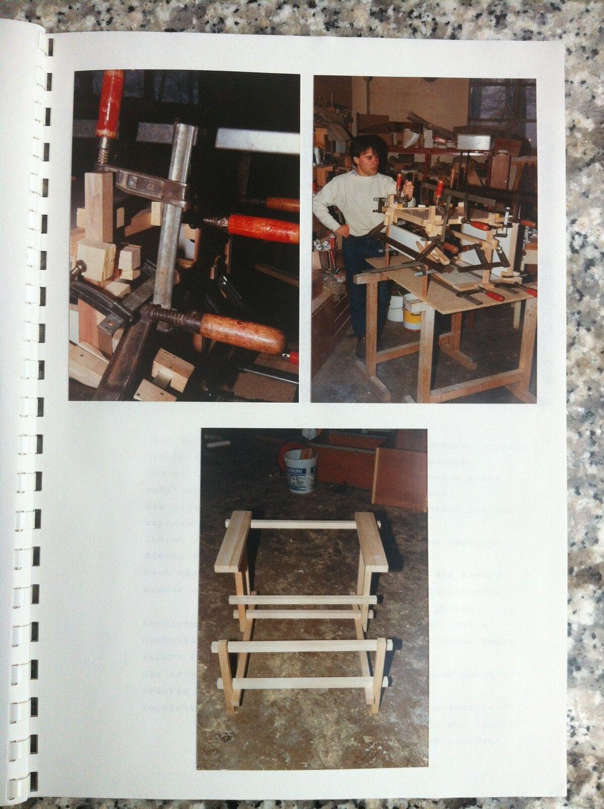 Bauanleitung nachbau rietveld chair stuhl red blue rot for Bauhaus nachbau