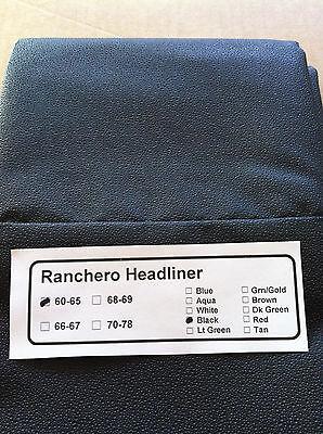 Ranchero Headliner 1960/1961/1962/1963/1964/65 In Box All Pre-sewn /in Stock