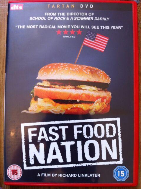 Ethan Hawke FAST Food NATION Richard Linklater Junk Food Expose R2 DTS DVD