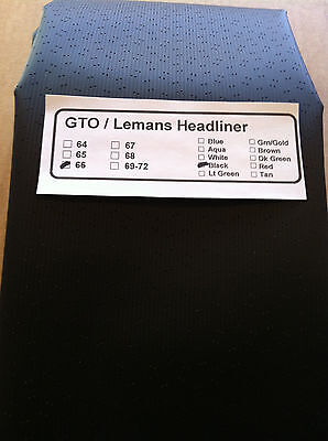 Gto / Lemans 1966 Headliner Ready To Install, In Stock / Free Shipping