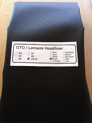 1971 Gto / Lemans 2-door H.t. Headliner In Box, All Pre-sewn /free Shipping