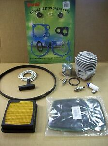Partner K750 Cutoff Saw Rebuild Kit Cylinder / Piston Fits Husqvarna K750