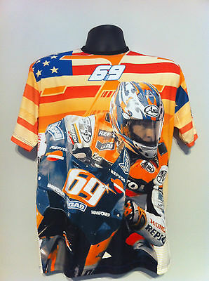 Nicky Hayden Rare 2007 Original T-shirt Free Gift