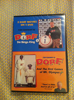 Dorf Da Bingo King  Dorf And The First Games Of Mt  Olympus Dvd New