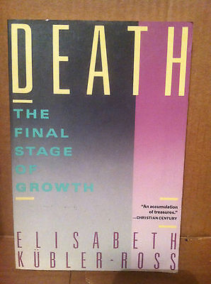 Death   The Final Stage By Elisabeth Kubler Ross  1986  Paperback  Store 2437