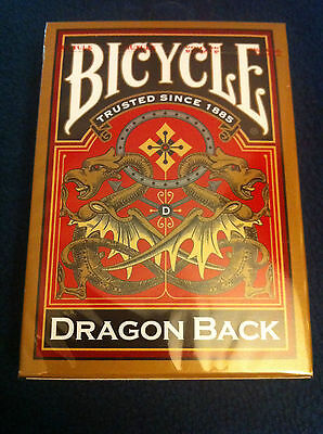 Bicycle Gold Dragon Back Playing Cards Deck!