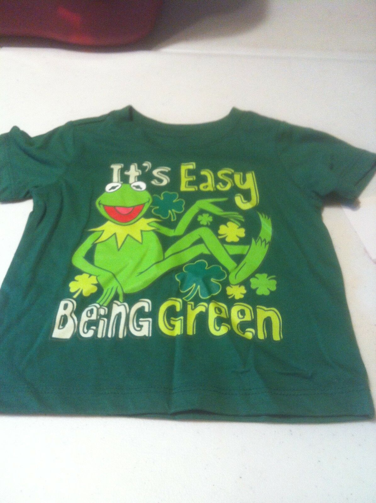 Kermit The Frog Shirt It's Easy Being Green Childrens 12 Months