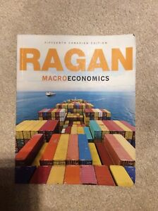 Ragan macro economics textbook 15th edition