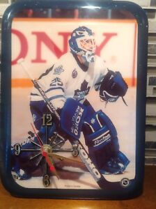 Vintage Toronto Maple Leafs Goalie #25 Picture Wall Clock
