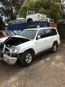 Now wrecking Toyota Landcruiser 100's wagon v8 2000 all parts engine Travellers Rest Meander Valley Preview
