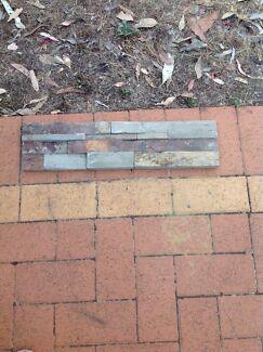 Stone Slate Wall Cladding Tiles Natural Bullsbrook Swan Area Preview
