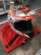 BELL HELMET SMALL - RED/WHITE Dandenong Greater Dandenong Preview