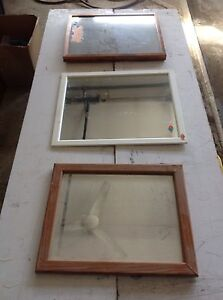 3 mirrors for sale.