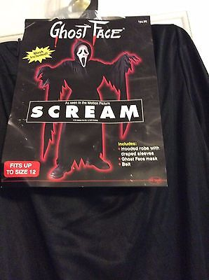 Scream Halloween costume fit to size 12 child  - Scream Costumes Halloween