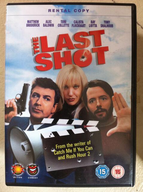 Matthew Broderick Alec Baldwin Toni Collette THE LAST SHOT ~ 2004 Comedy UK DVD