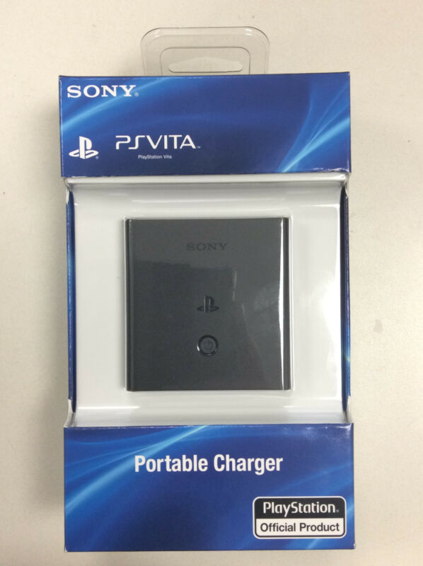 Sony PS Vita Battery Charger GENUINE OEM Portable charger (PSVita) **Brand New**