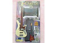 Carvin Guitar Amp Bass Black Knobs Grey Pointer