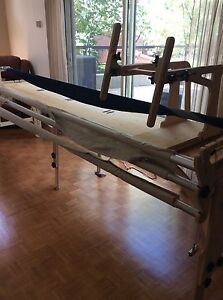 Proflex quilting frame WITH machine Janome 1600P DBX