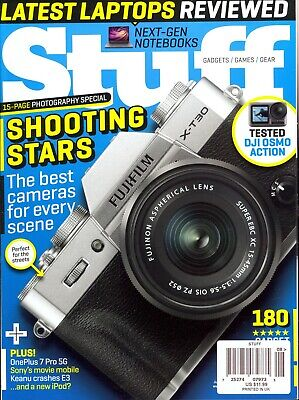 Stuff #246 August 2019 Best Cameras For Every Scene-Latest