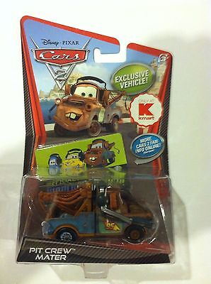 - Disney Pixar CARS 2 PIT CREW MATER Headset Kmart Exclusive Car